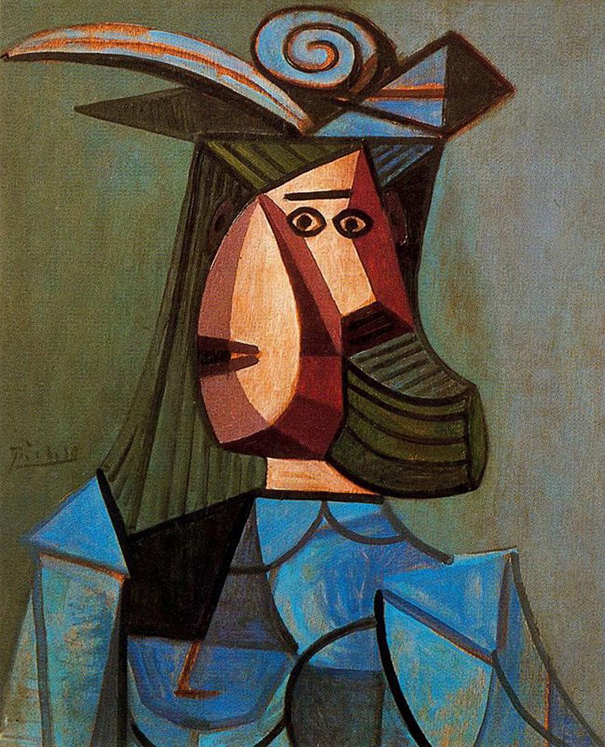 Пабло Пикассо. Портрет женщины. Дора Маар