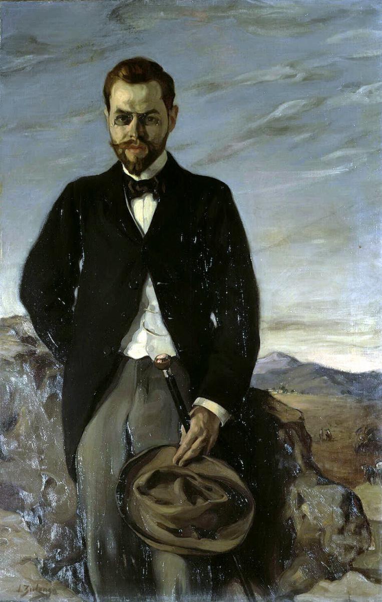 Игнасио Сулоага. Портрет Ивана Ивановича Щукина