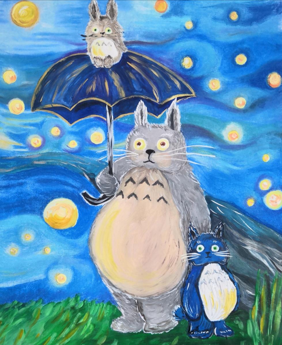 "Danara Kuzbolovna Rekhlova. Based on ""Totoro"""