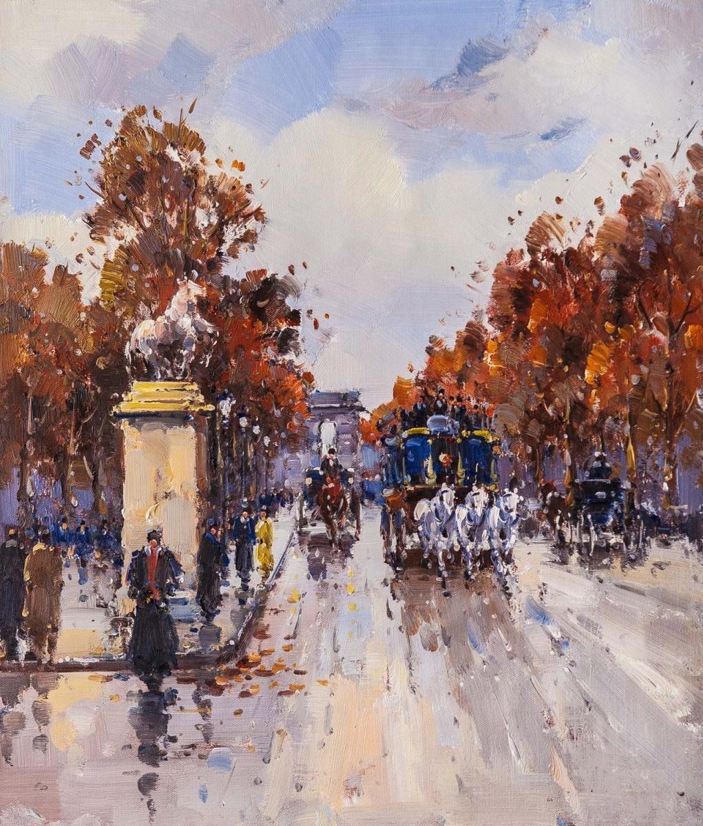 Andrey Sharabarin. Dreams of Paris N7