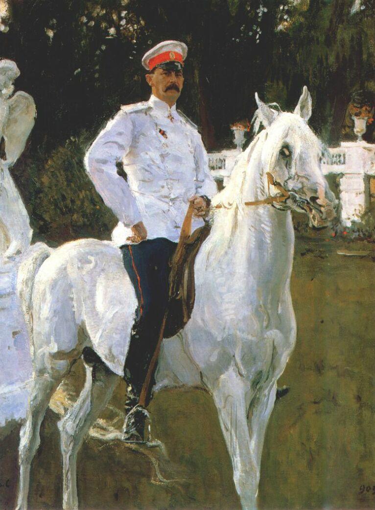 Валентин Александрович Серов. Князь Феликс Юсупов