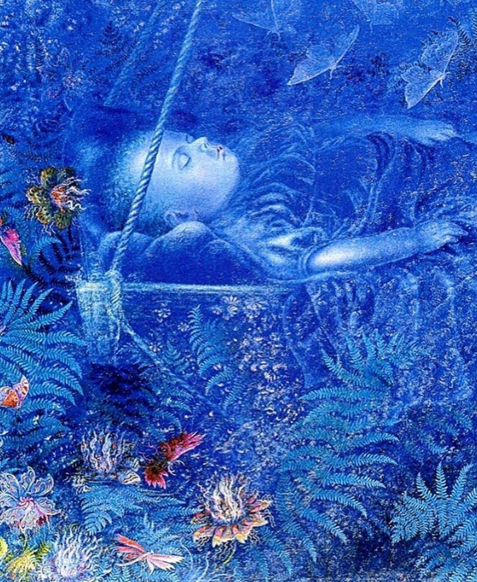 Kateryna Vasylivna Bilokur. Sleep