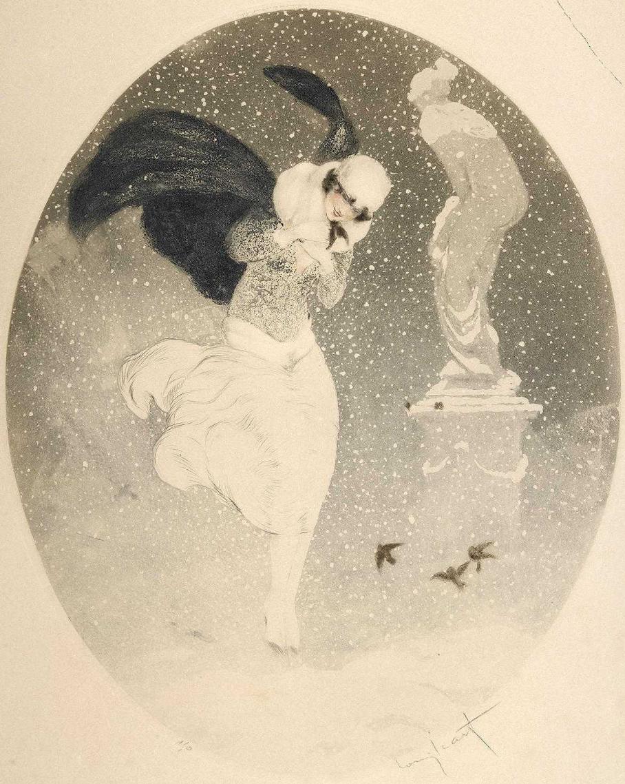 Icarus Louis France 1888 - 1950. Blizzard.