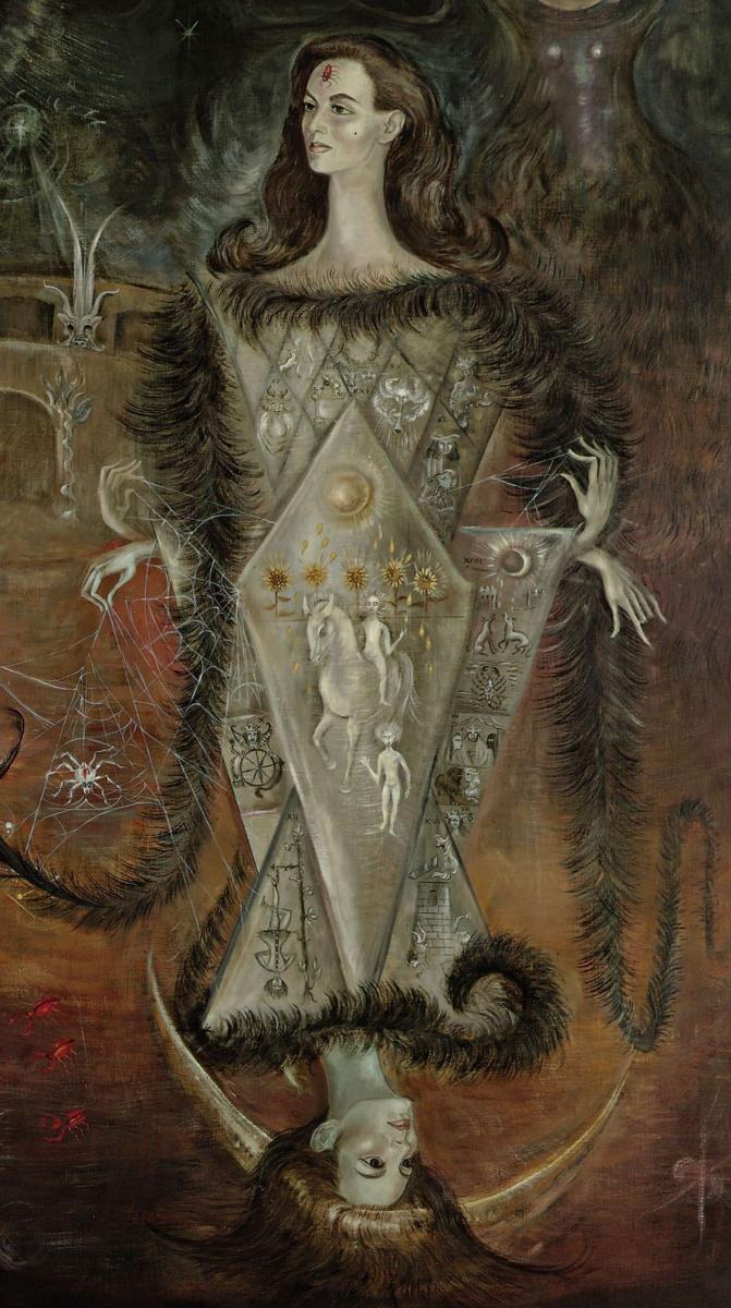 Leonora Carrington. Tarot Maya. Fragment II