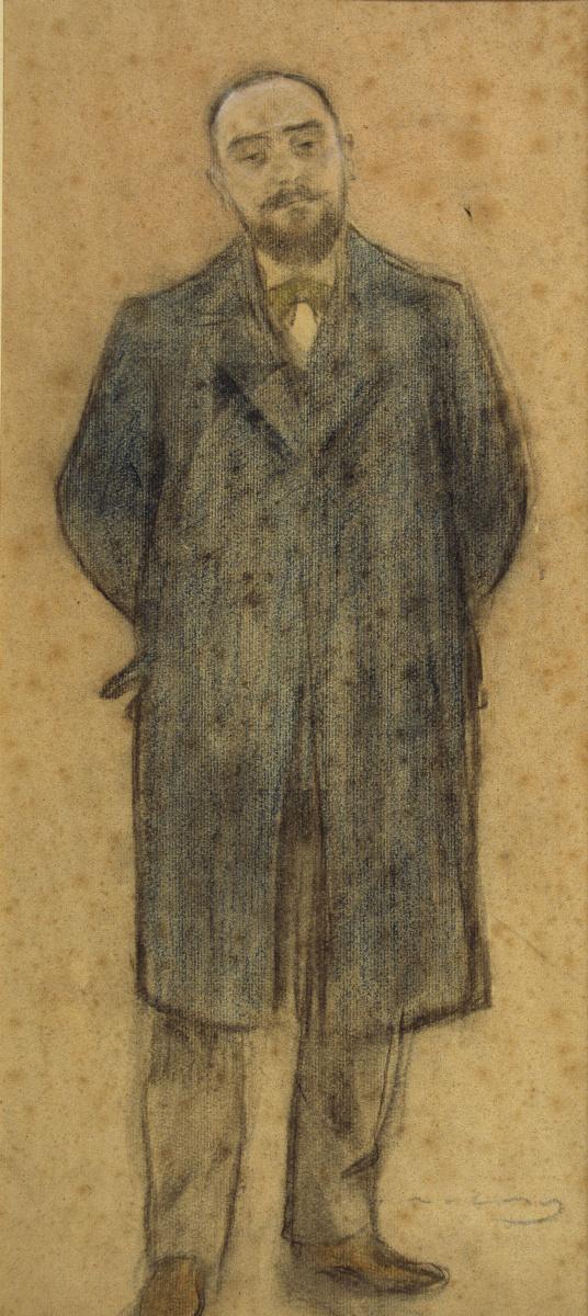Рамон Касас Карбо. Портрет Бонавентуры Басегода