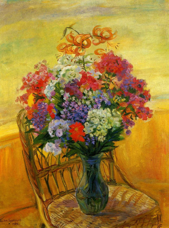 Pavel Varfolomeevich Kuznetsov. Flowers