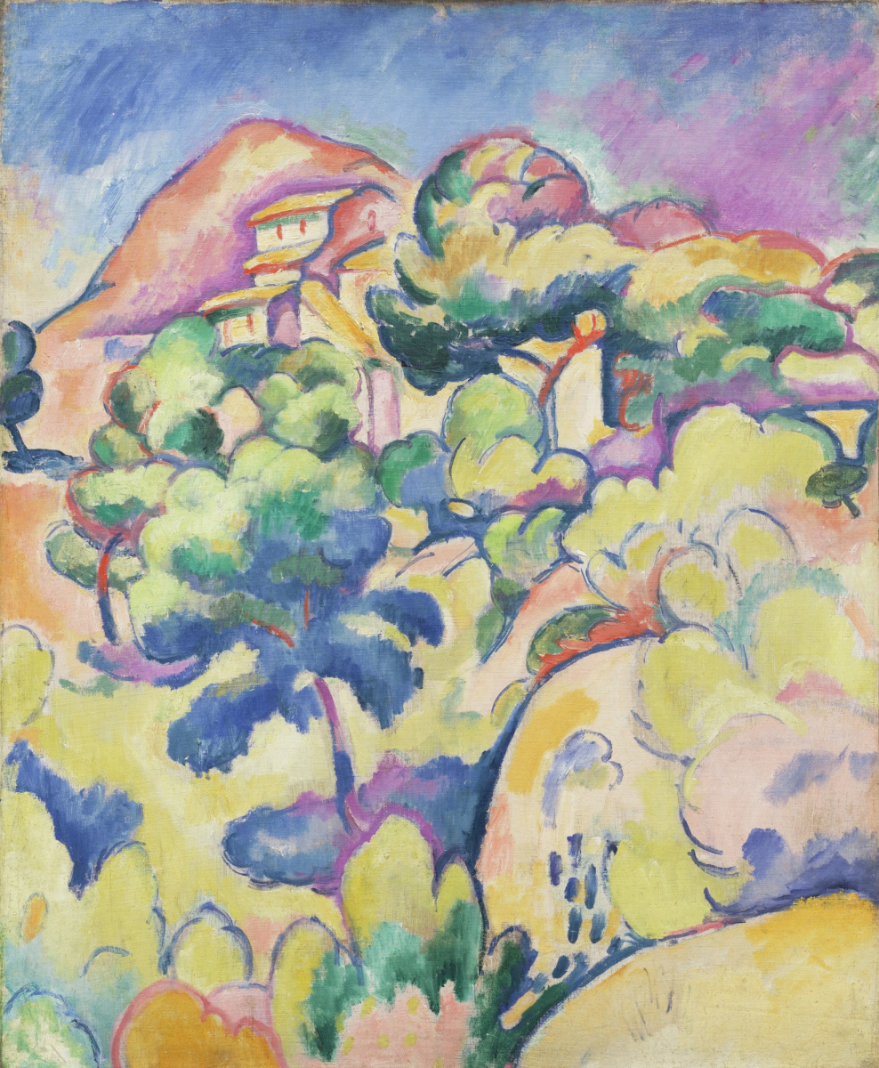 Georges Braque. Landscape at La Ciotat