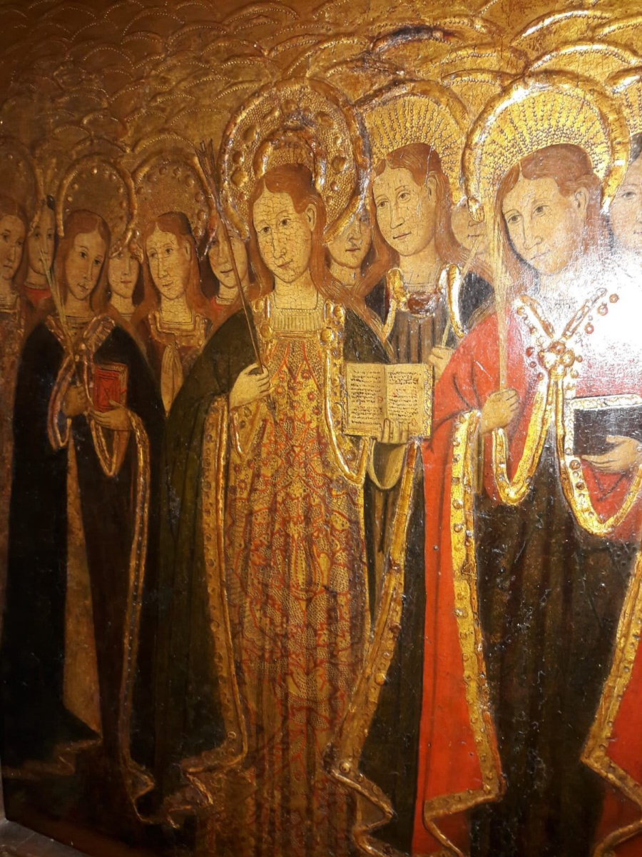 Неизвестный  художник. Святая Орсола и 11 тысяч девственниц