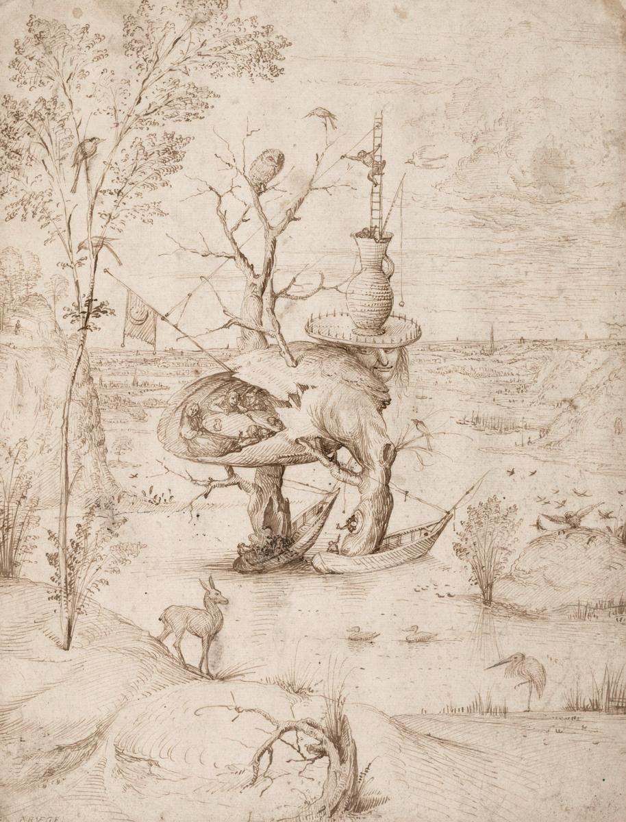 Иероним Босх. Человек-дерево