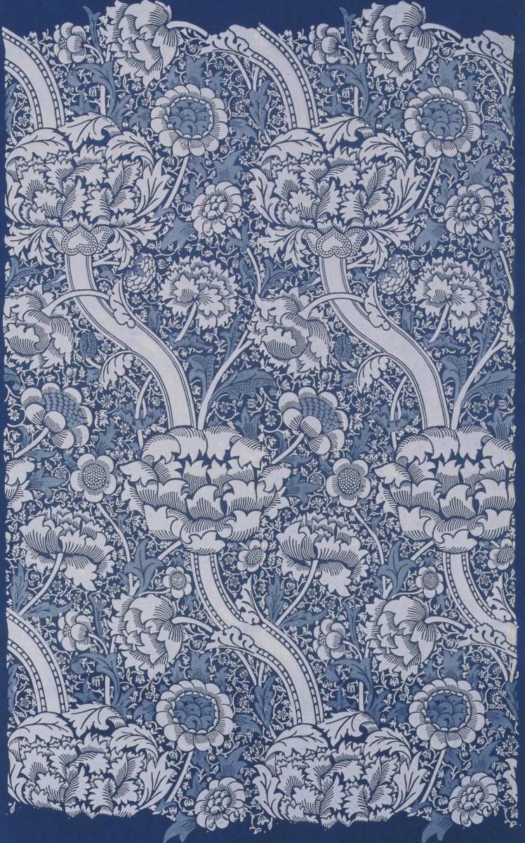 Уильям Моррис. Цветочный дизайн для ткани
