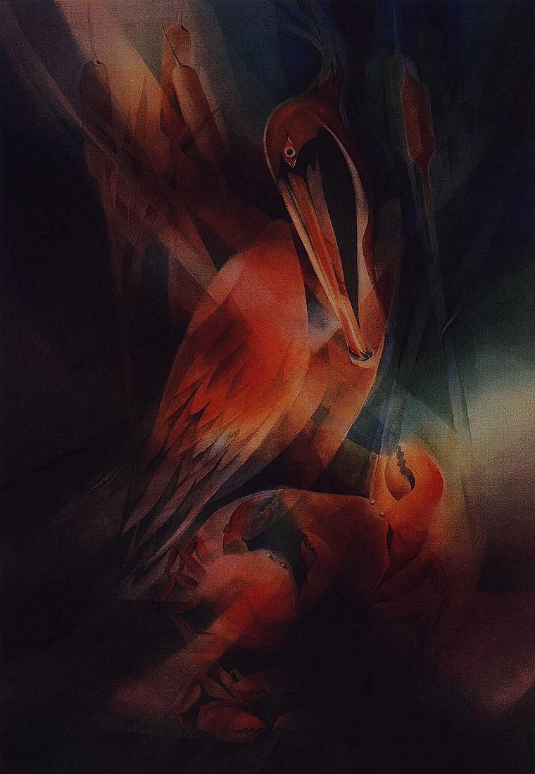 Лешек Форкзек. Пеликан и краб