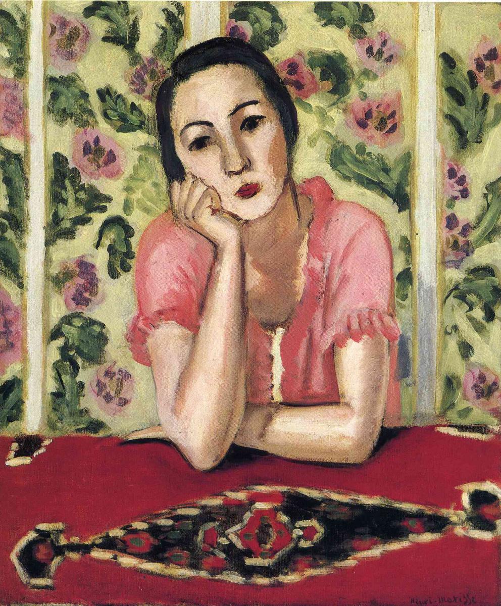 Анри Матисс. Девушка в розовом