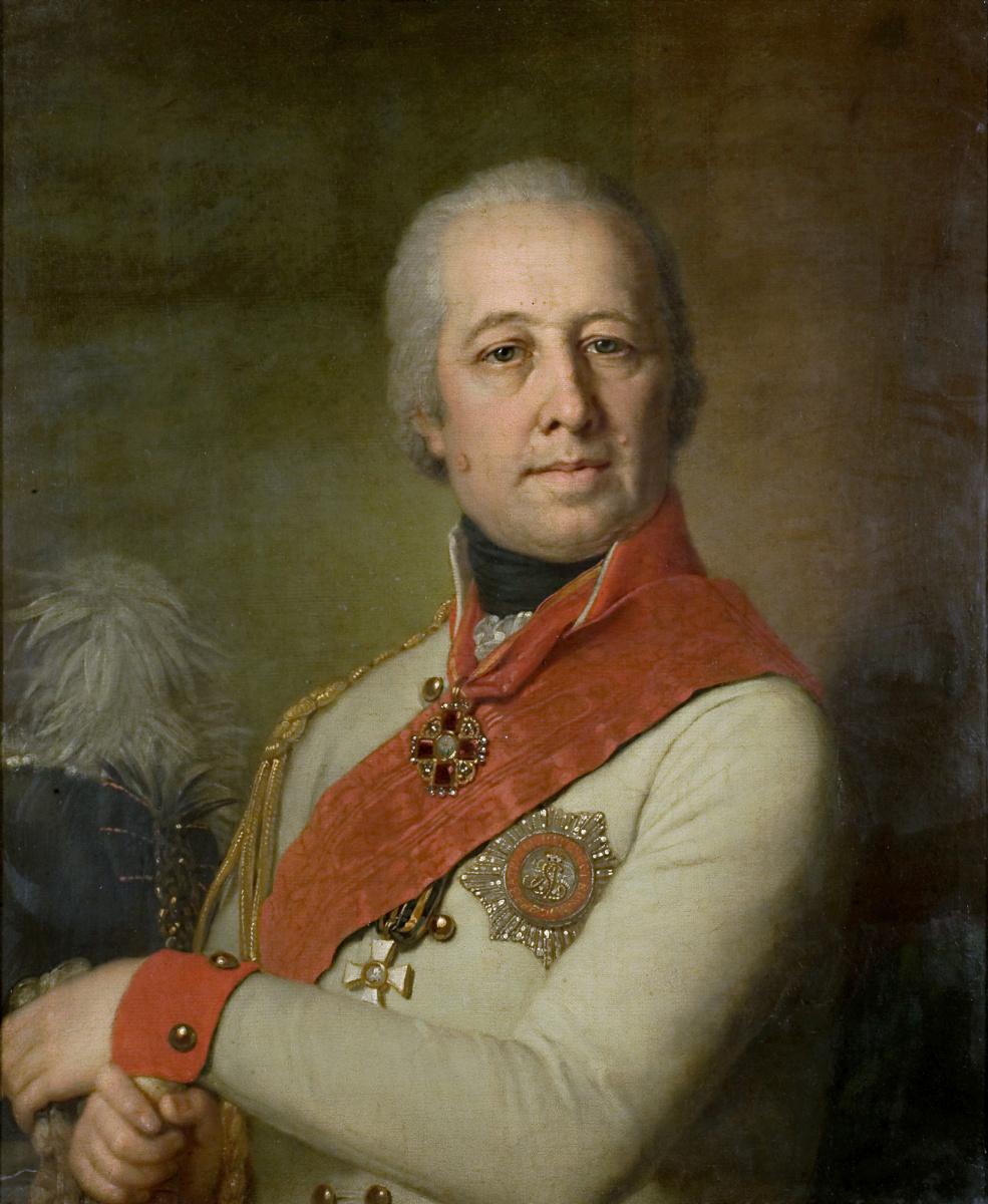 Vladimir Borovikovsky. Portrait of I.P. Dunin