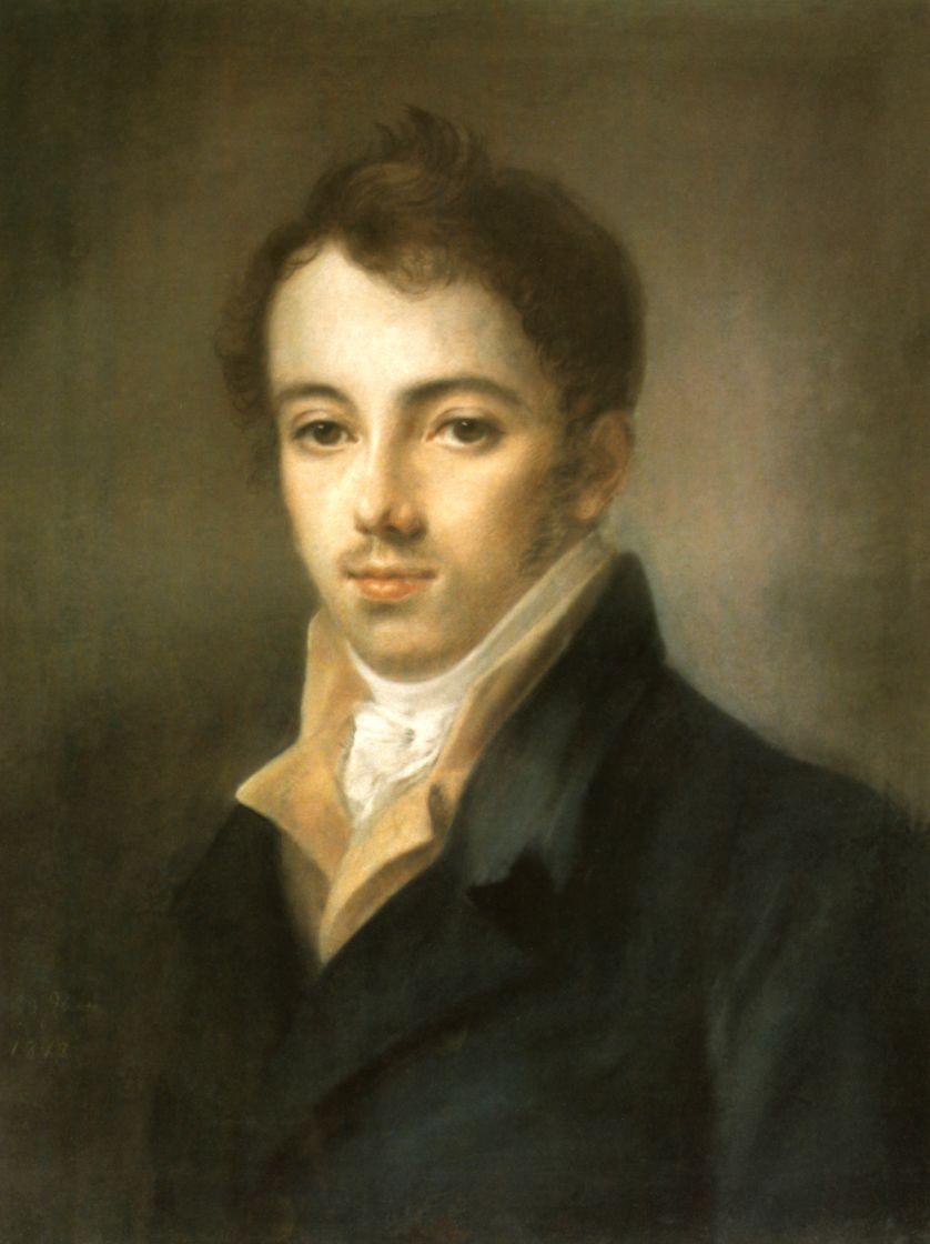 Алексей Гаврилович Венецианов. Портрет М. А. Фонвизина