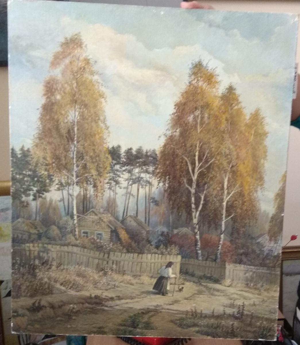 Asaulyak N.N. Belarus. Autumn