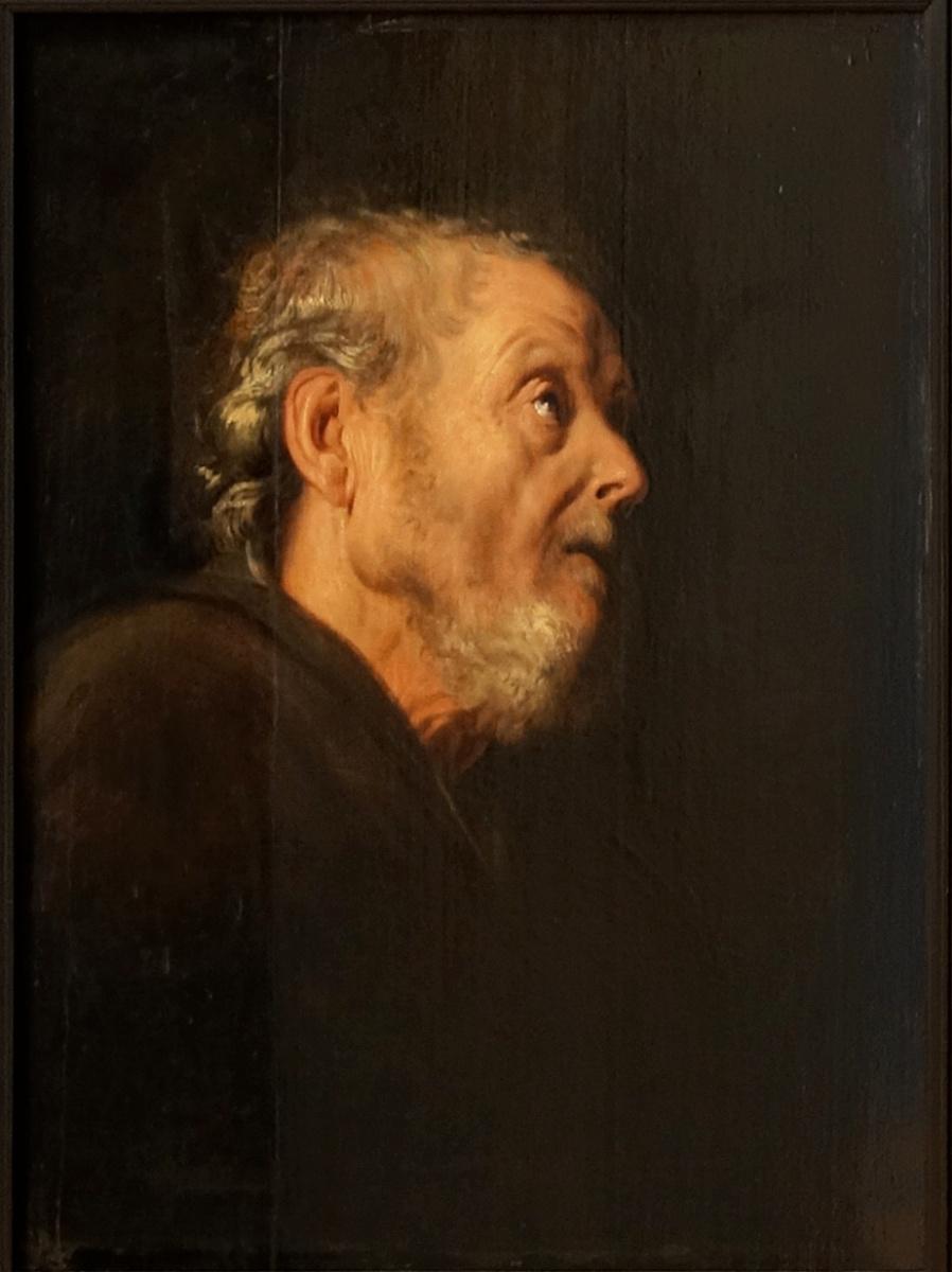 Ян Ливенс. Портрет пожилого мужчины