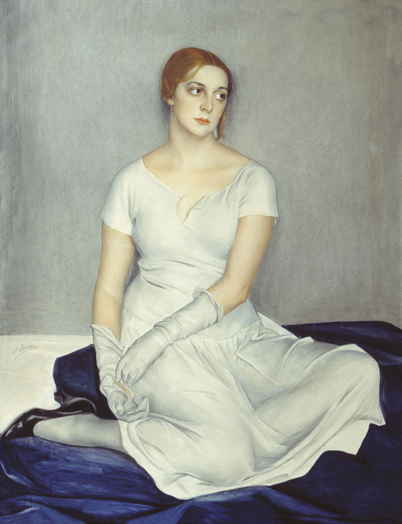 Saveliy Abramovich Sorin. Portrait of film actress N. Kovanko. 1923