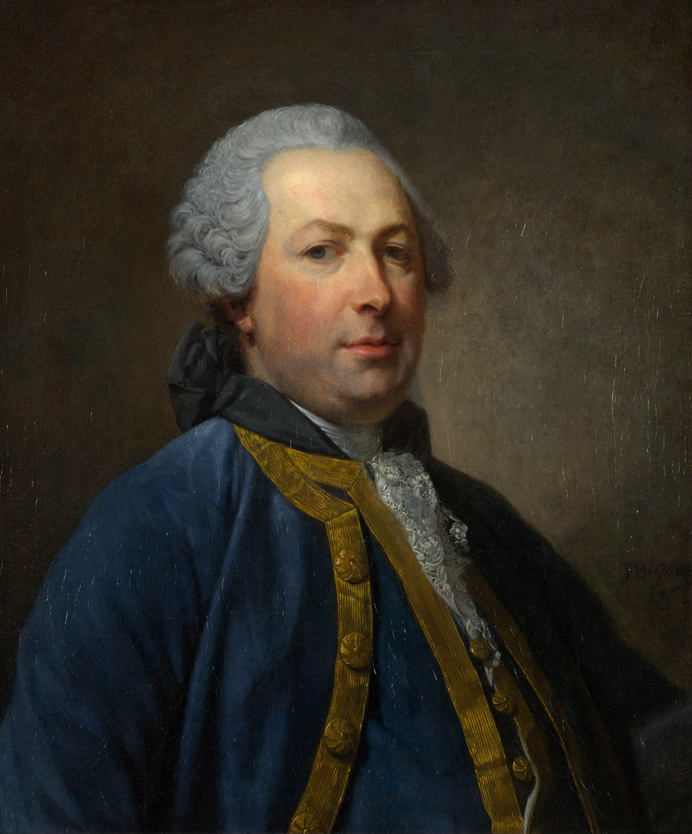Жан-Батист Грёз. Портрет мужчины