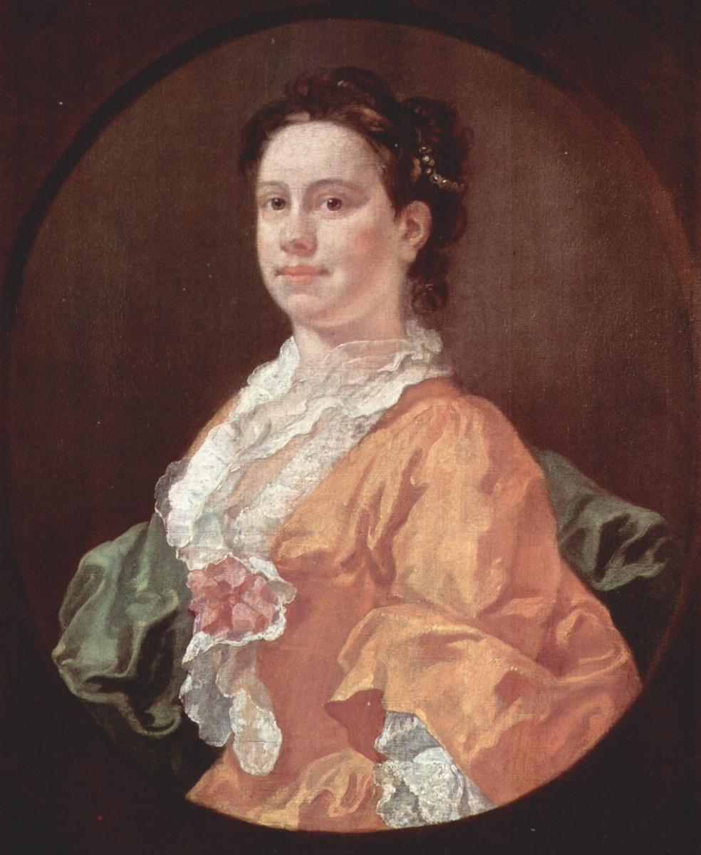 William Hogarth. Portrait of Madam Salter