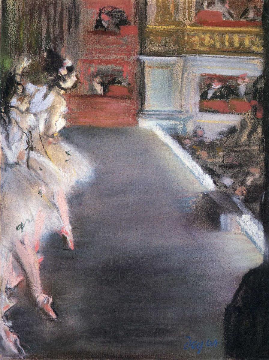 Эдгар Дега. Танцовщицы в Старой Опере