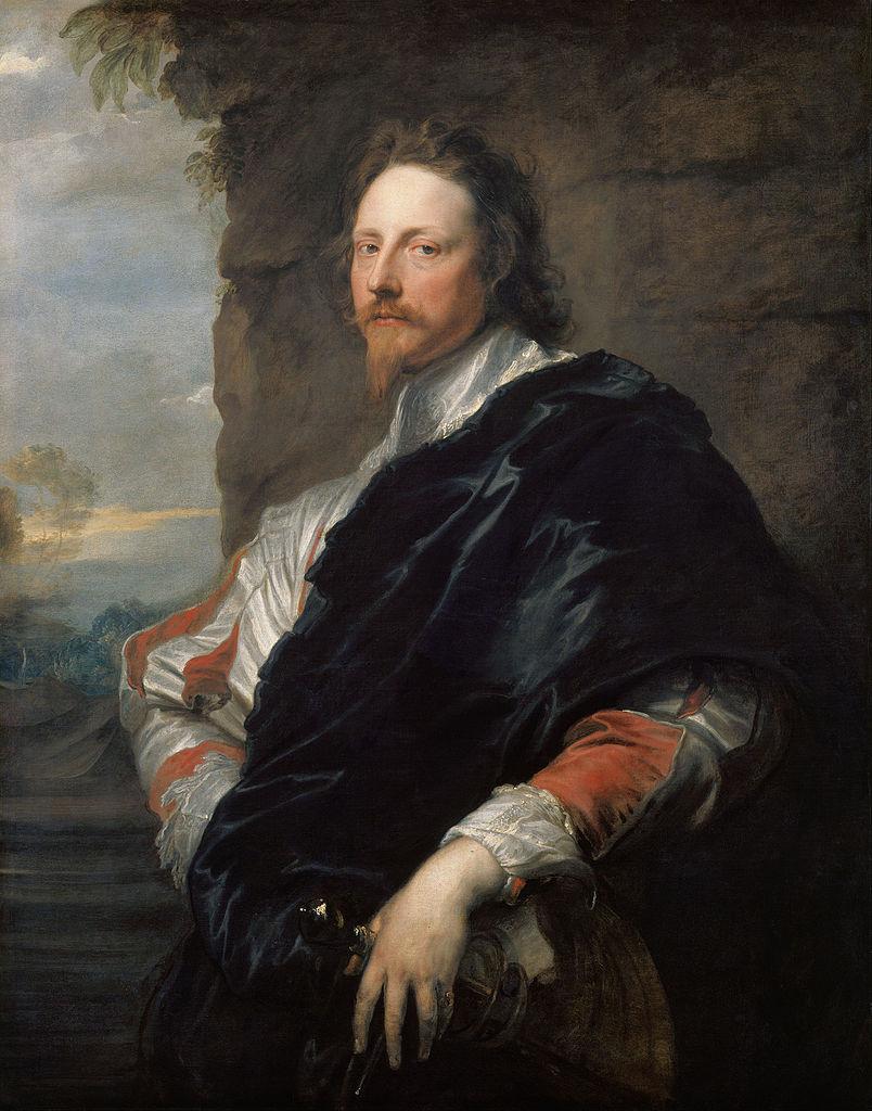 Anthony van Dyck. Portrait Of Nicholas Lanier
