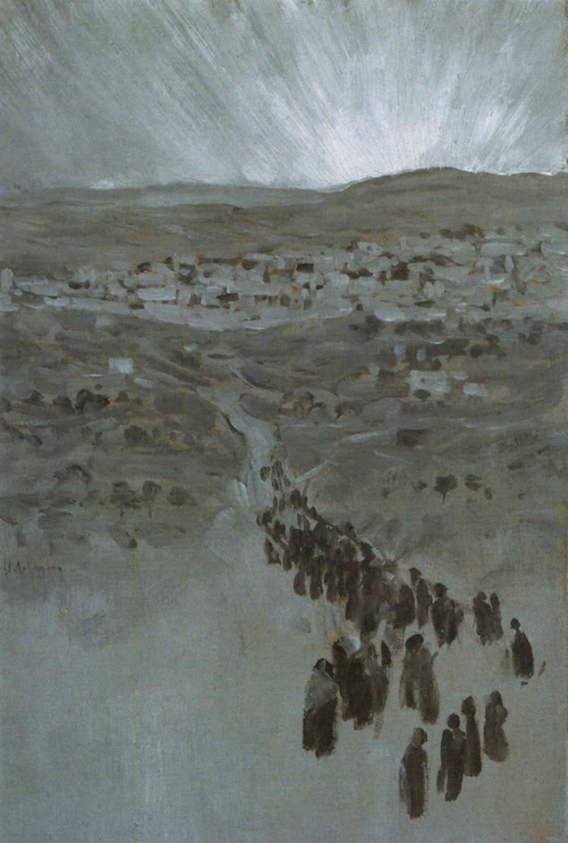 Isaac Levitan. On the way to Zion