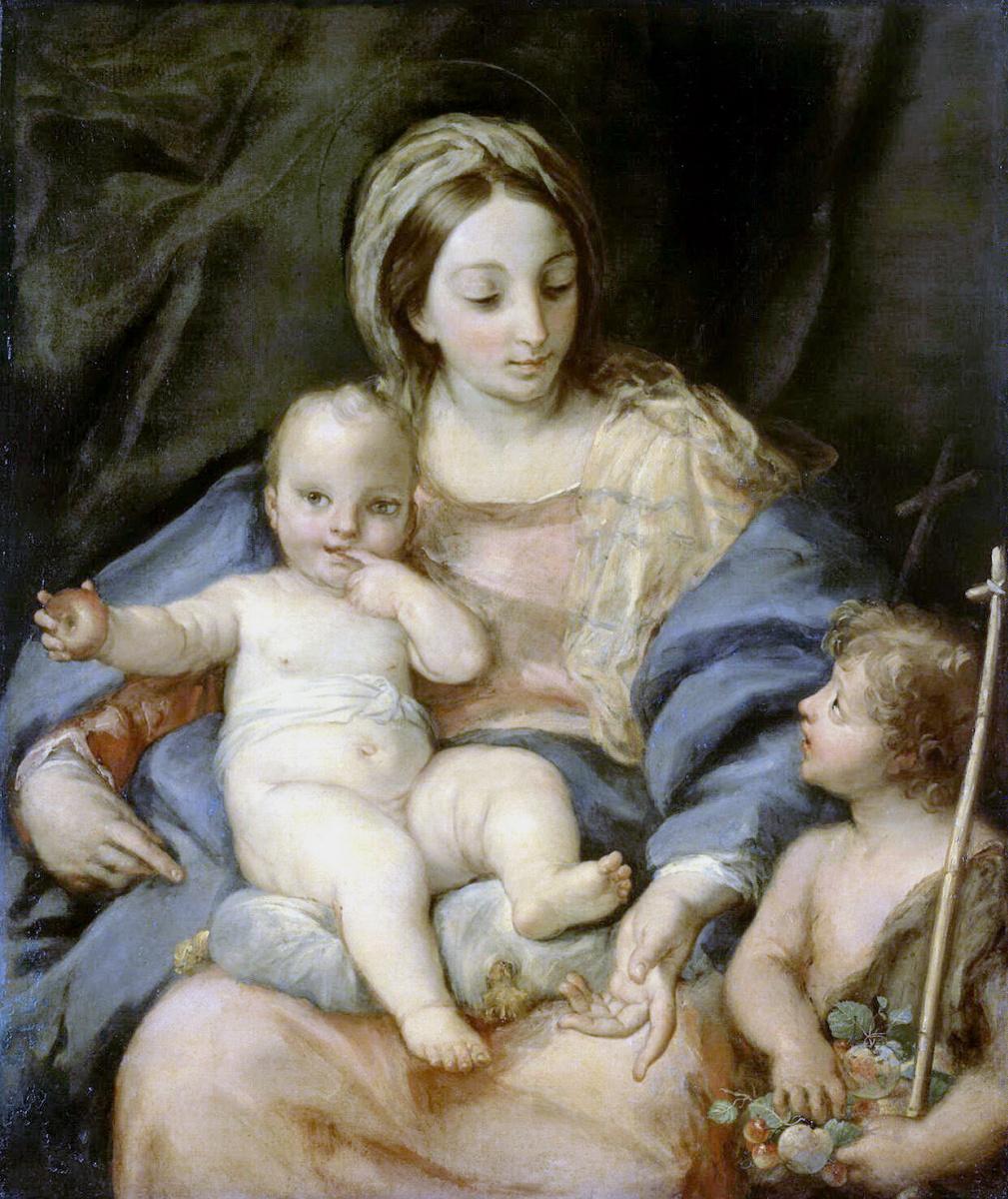 Маратти, Карло. Мадонна с Младенцем и Иоанном Крестителем