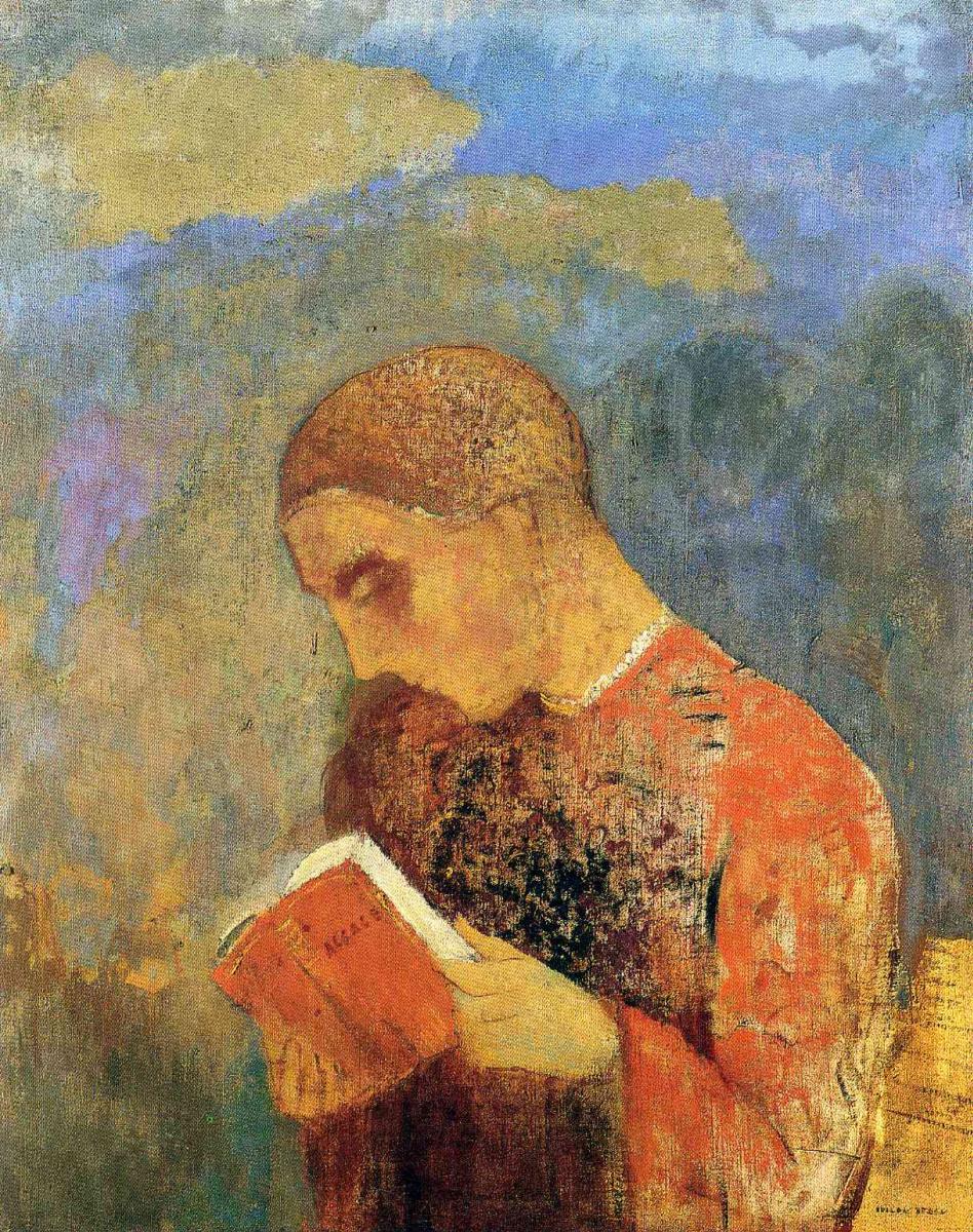 Одилон Редон. Читающий монах