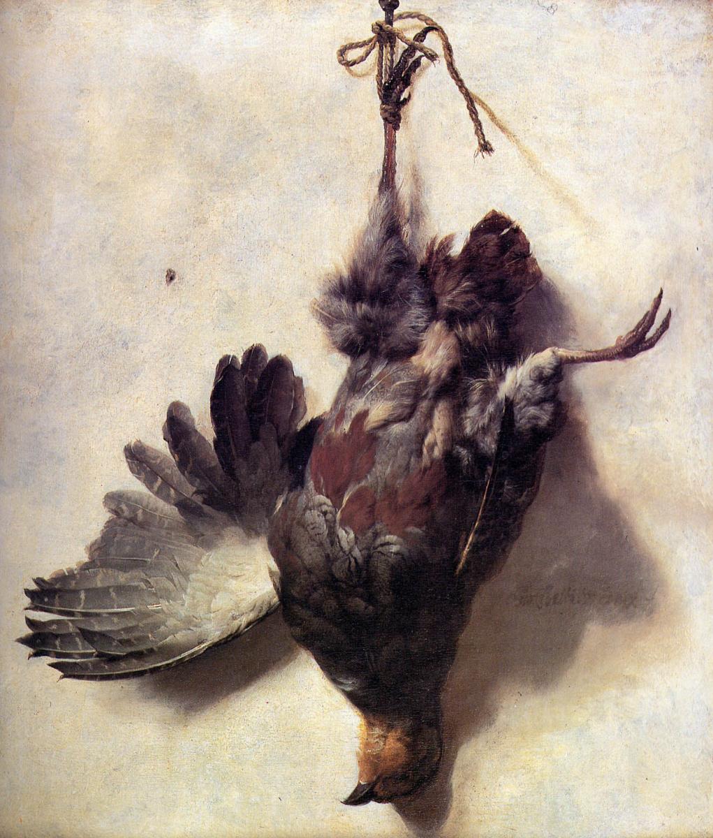 Jan Baptist Venix. Dead partridge