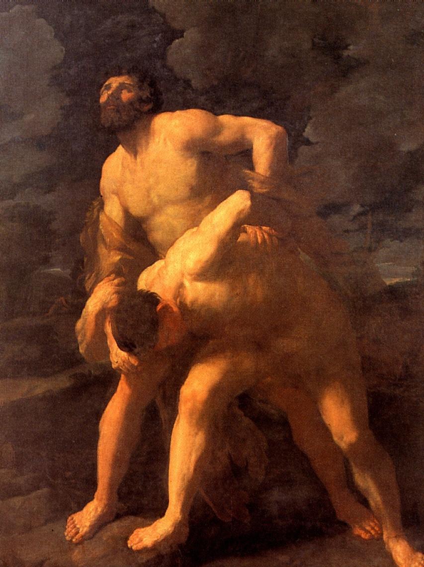 Гвидо Рени. Геракл, борющийся с Ахелоем