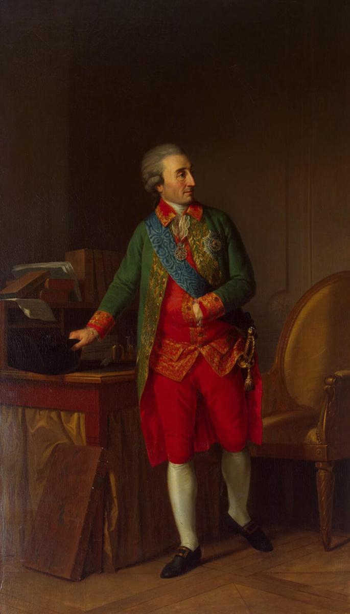 Иоганн Фридрих Август Тишбейн. Портрет Салтыкова