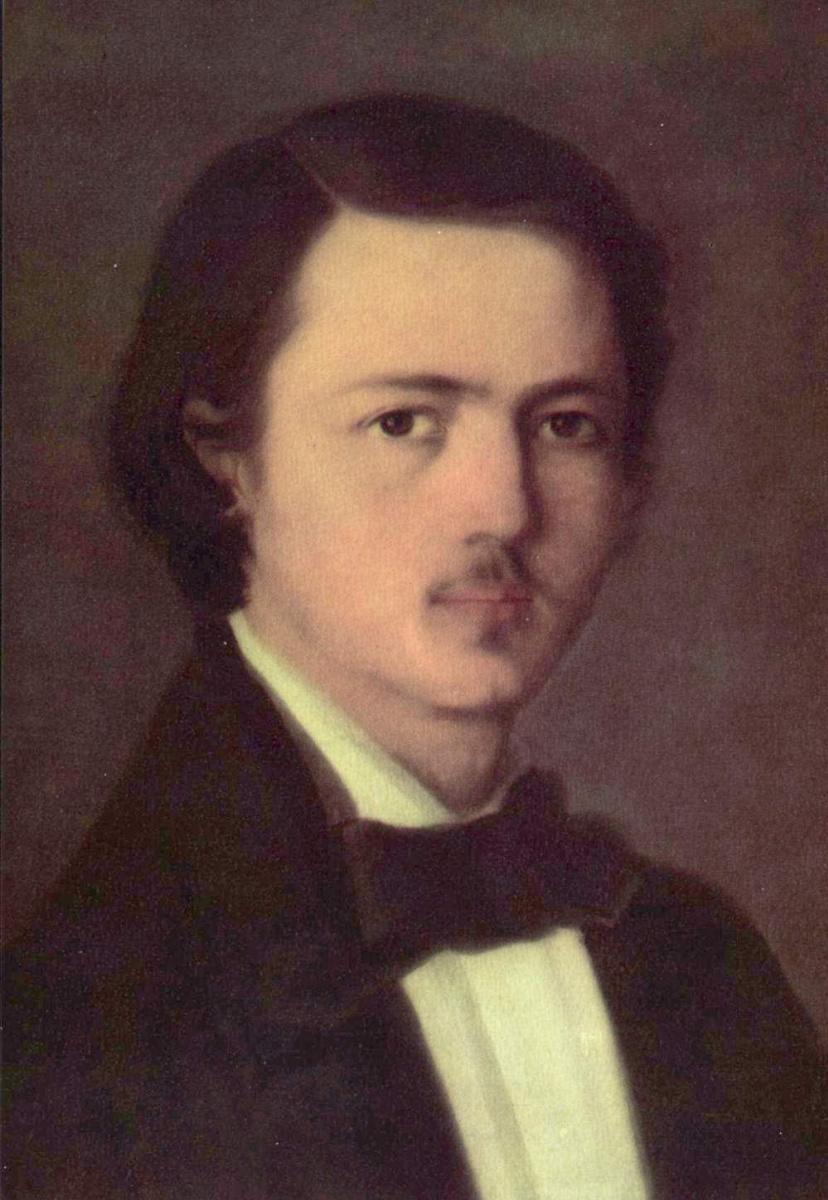 Николае Григореску. Автопортрет