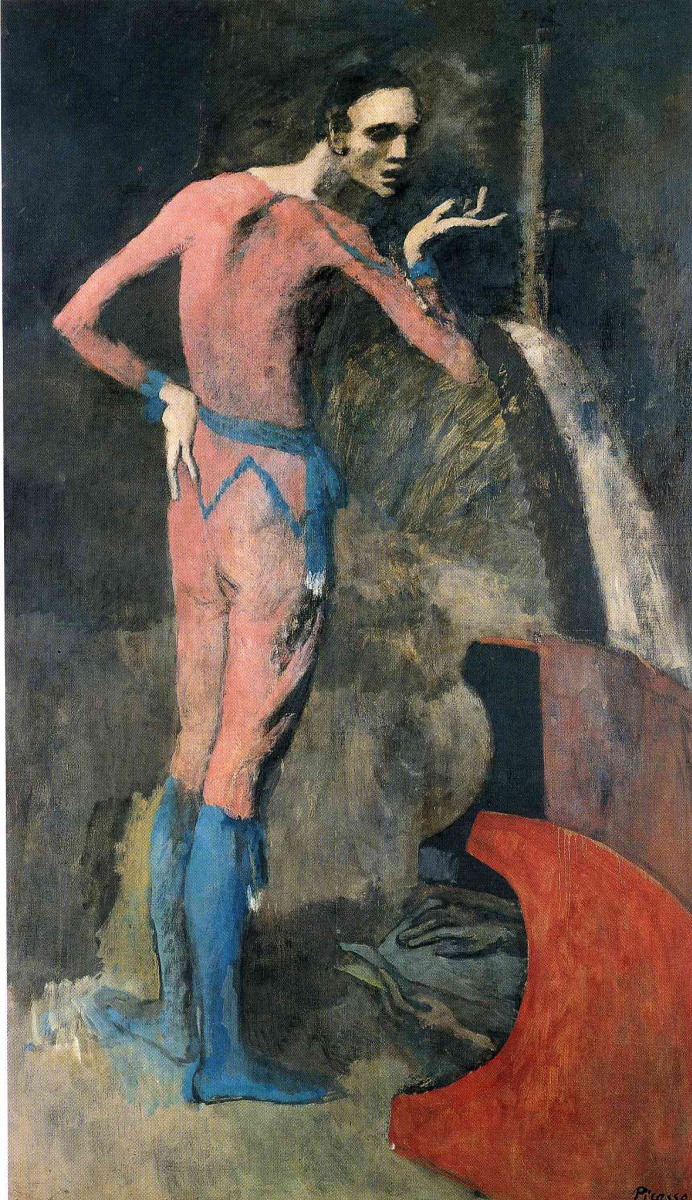 Пабло Пикассо. Стоящий мужчина
