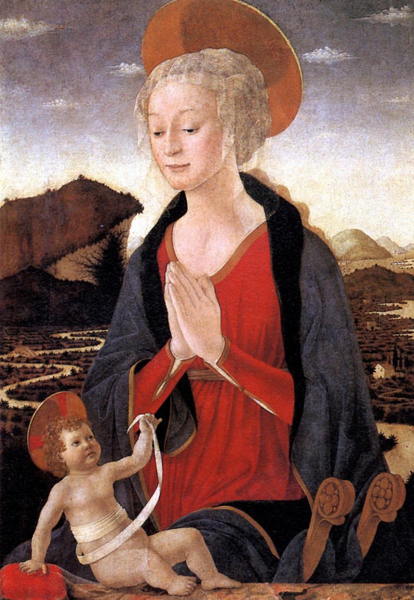 Алессио Бальдовинетти. Мадонна с младенцем