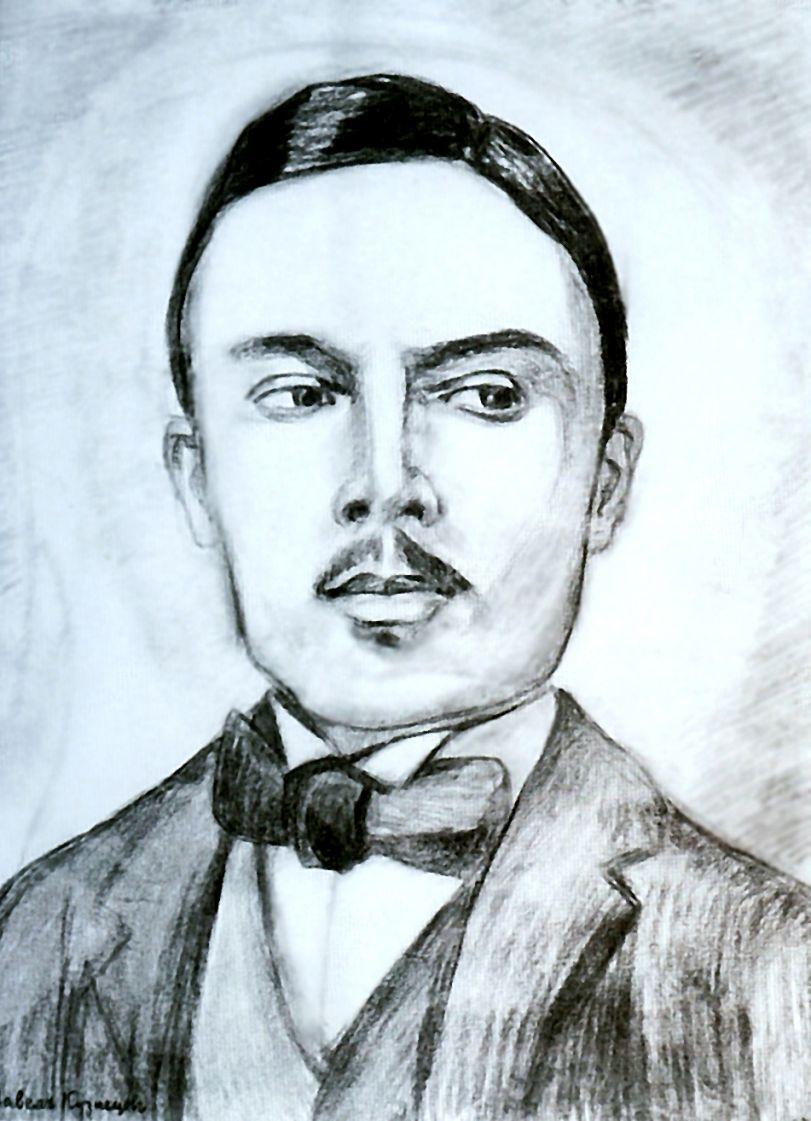Павел Варфоломеевич Кузнецов. Портрет Н. Сапунова