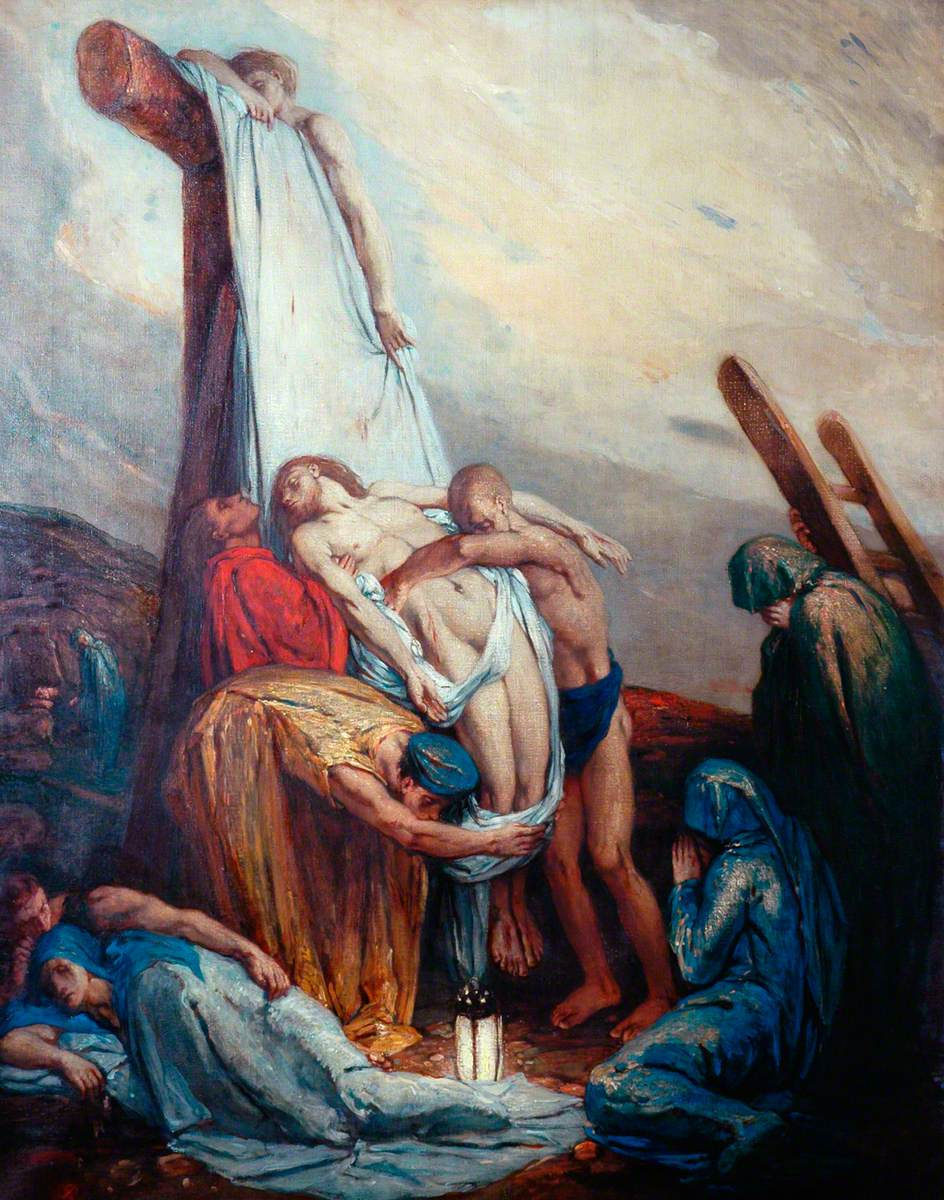 Charles Ricketts. Descent from the Cross