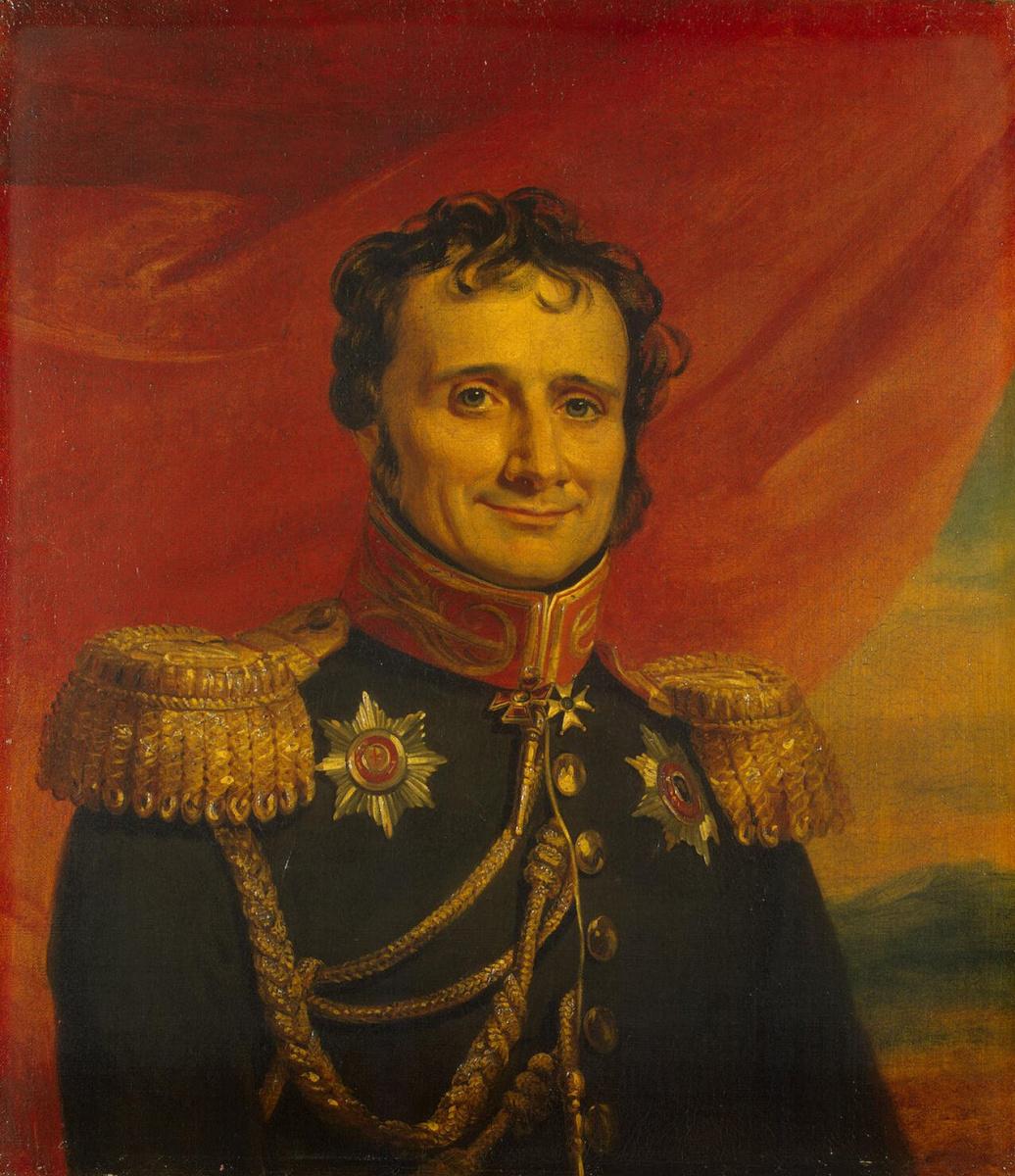 Джордж Доу. Портрет Генриха Вениаминовича Жомини