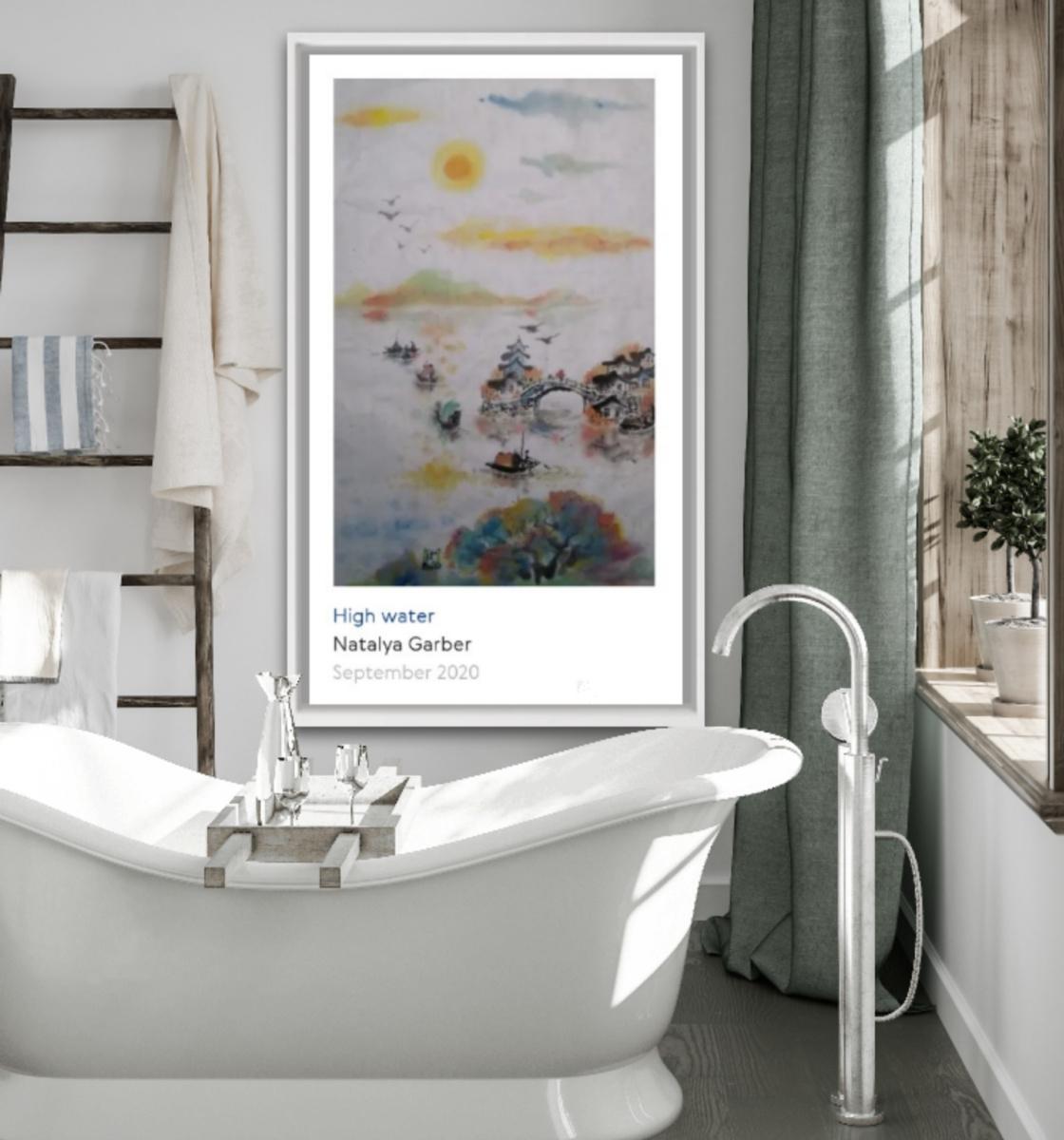 Natalya Garber. Big water. A relaxing bath masterpiece