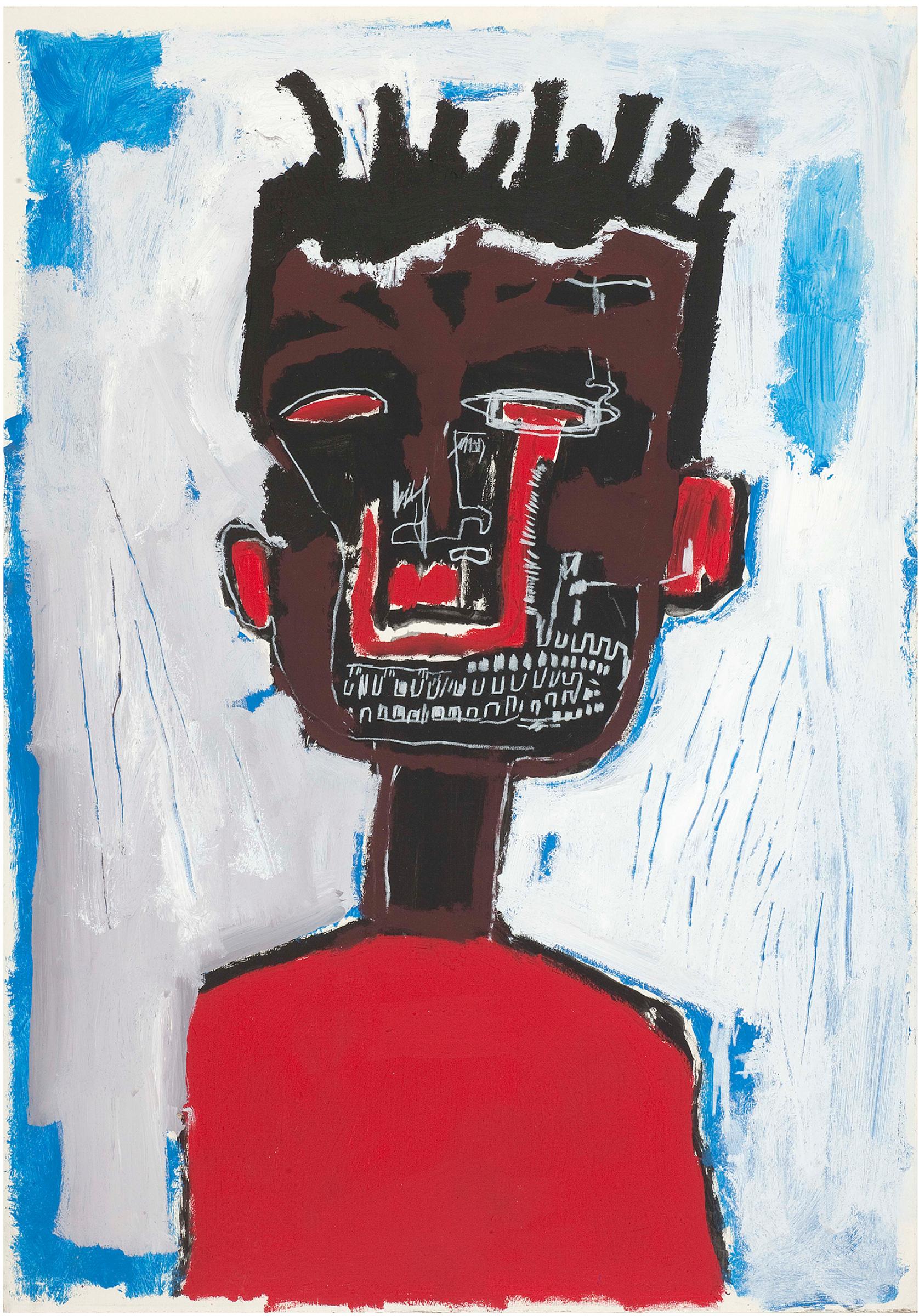 Жан-Мишель Баския. Автопортрет