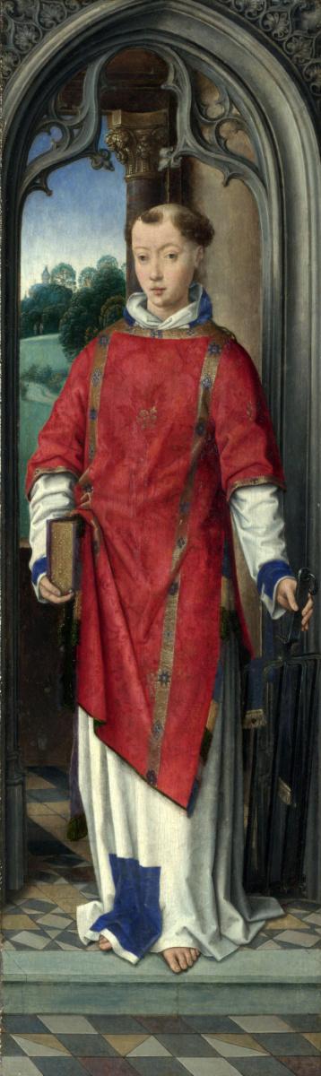 Ганс Мемлинг. Святой Лаврентий