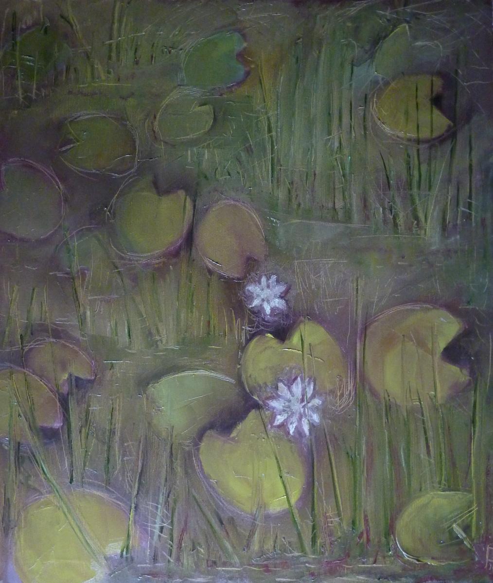Svyatoslav Svyatoslav Ryabkin Ryabkin. White lilies Белые лилии