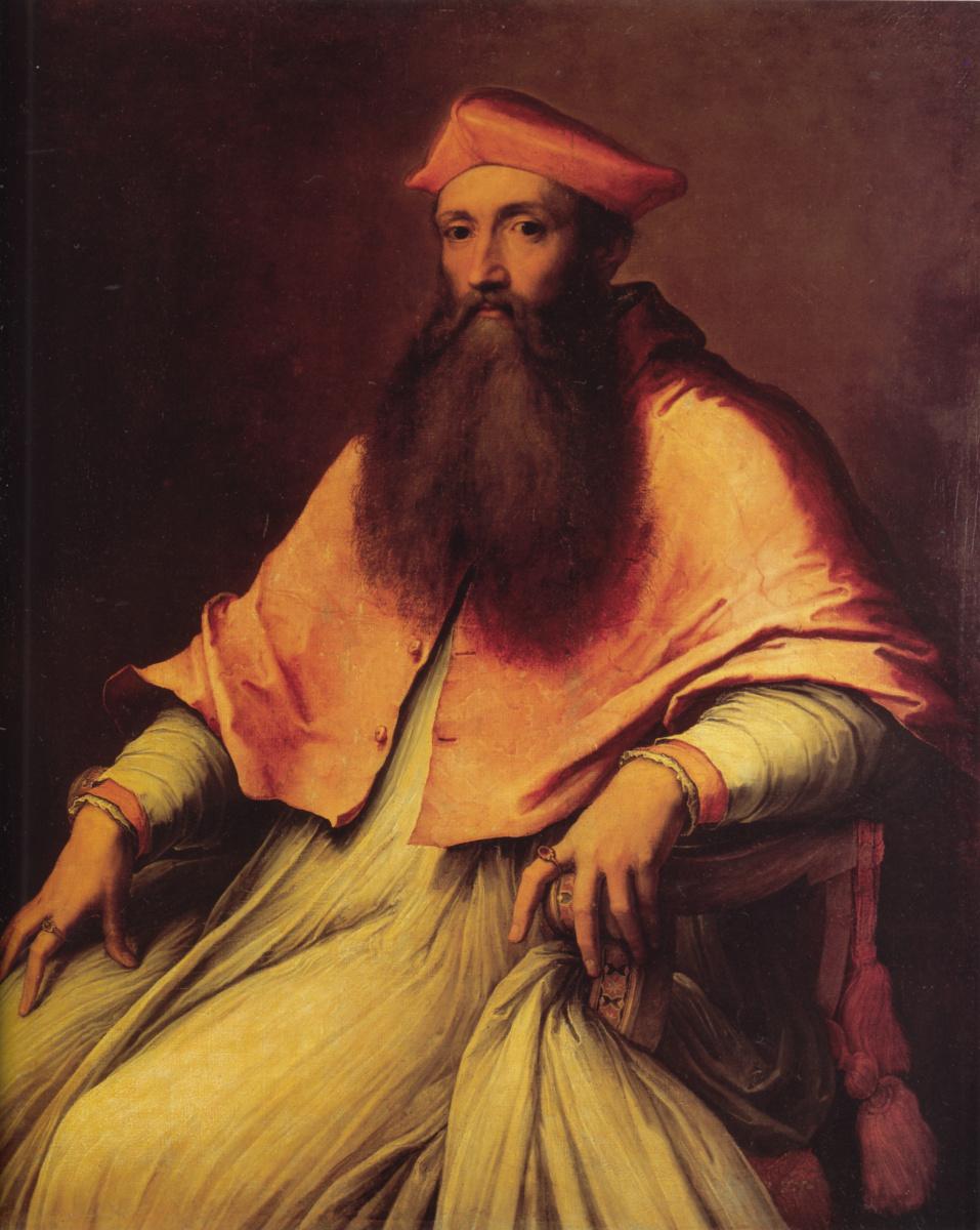Себастьяно дель Пьомбо. Портрет кардинала Реджинальда