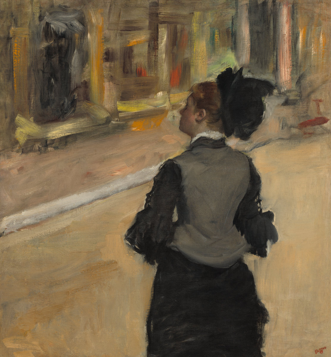 Edgar Degas. A visit to the Museum