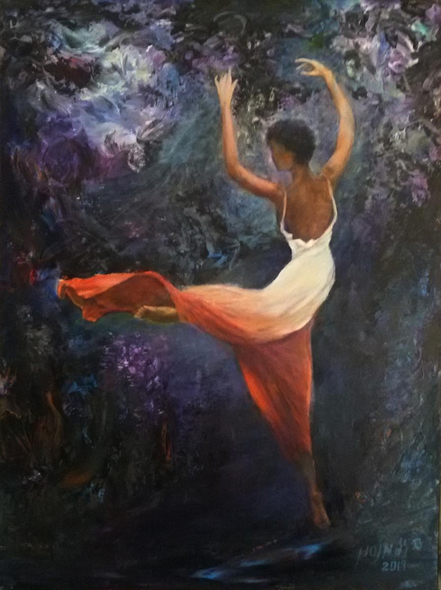 Silva Iosifovna Zalmanson. Dancer jump