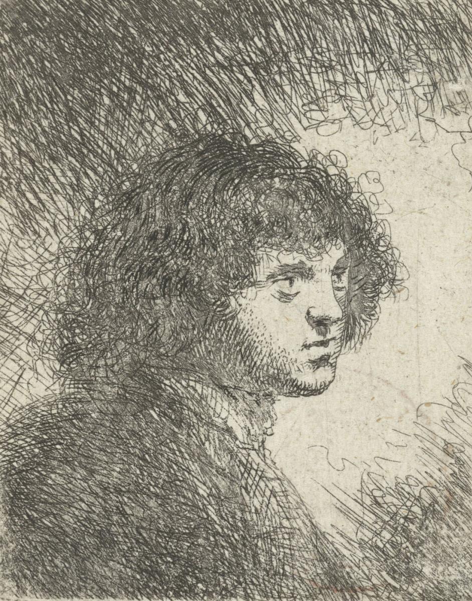 Ян Ливенс. Бюст молодого человека