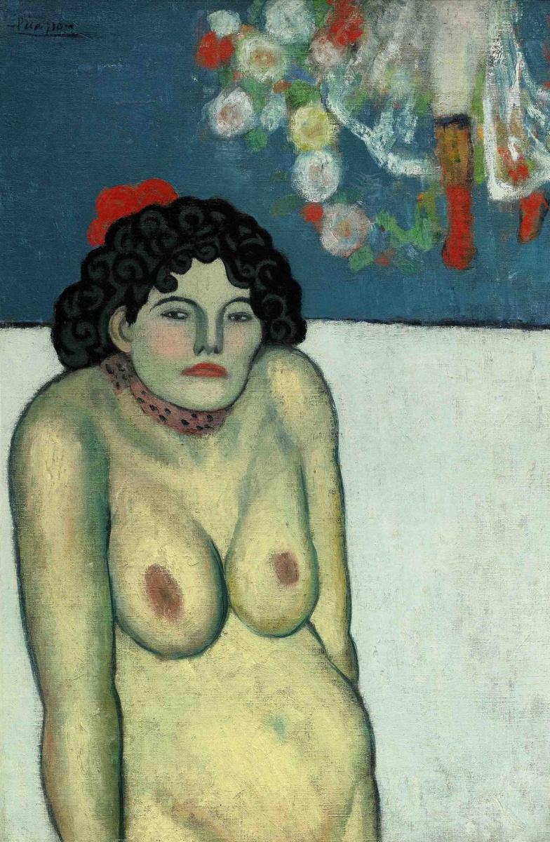 Пабло Пикассо. La Gommeuse
