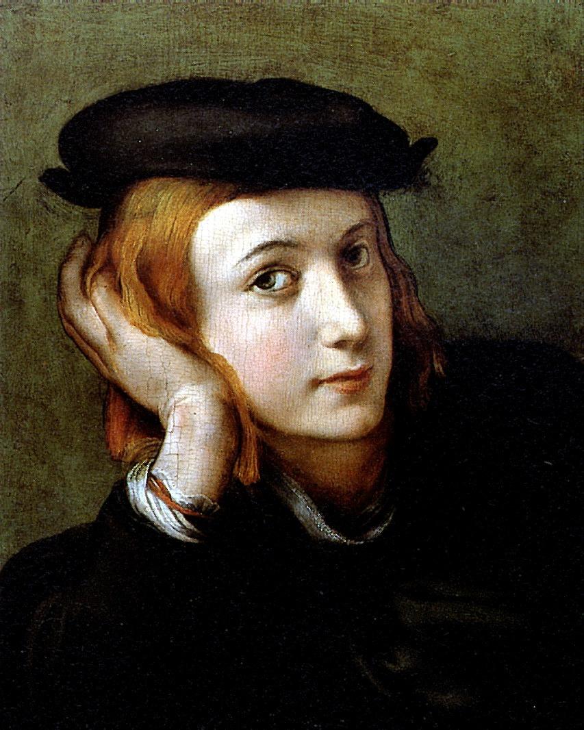 Антонио Корреджо. Портрет молодого человека
