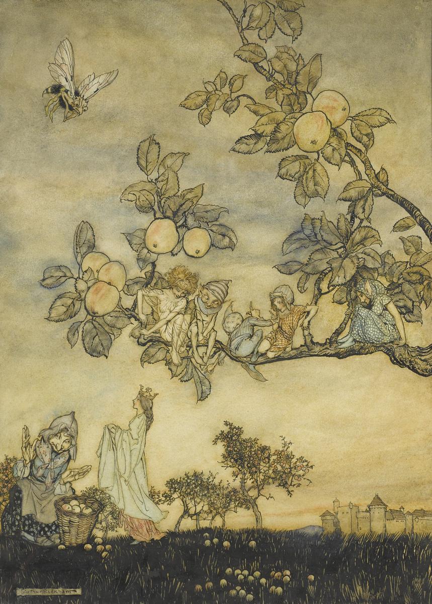 Артур Рэкхэм. Волшебные яблоки