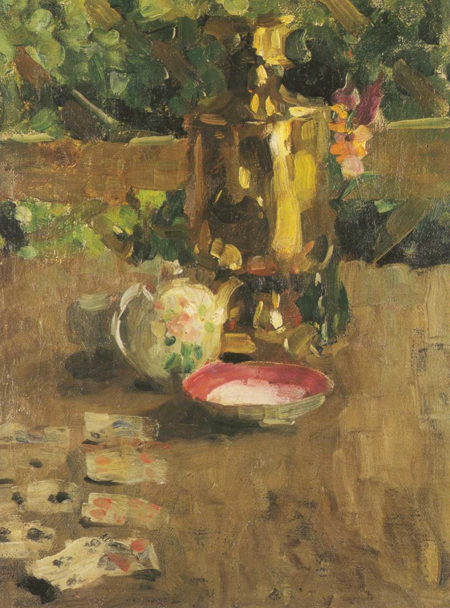 Alexey Georgievich Yavlensky. Still life with a samovar