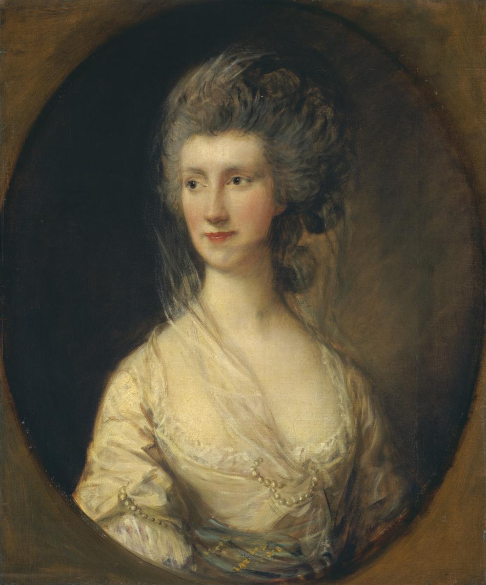 Thomas Gainsborough. Mrs. John Taylor
